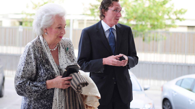 Foto: Fernando Gómez-Acebo y la infanta Pilar en una imagen de archivo (Gtres)