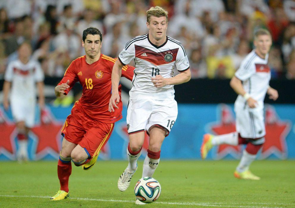 Foto: Toni Kroos durante el amistoso que disputó Alemania ante Armenia el pasado viernes. (Efe)