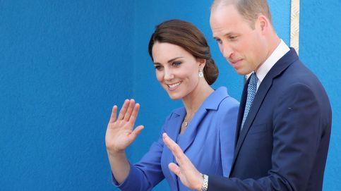 El príncipe Guillermo y Kate Middleton, padres de su tercer hijo