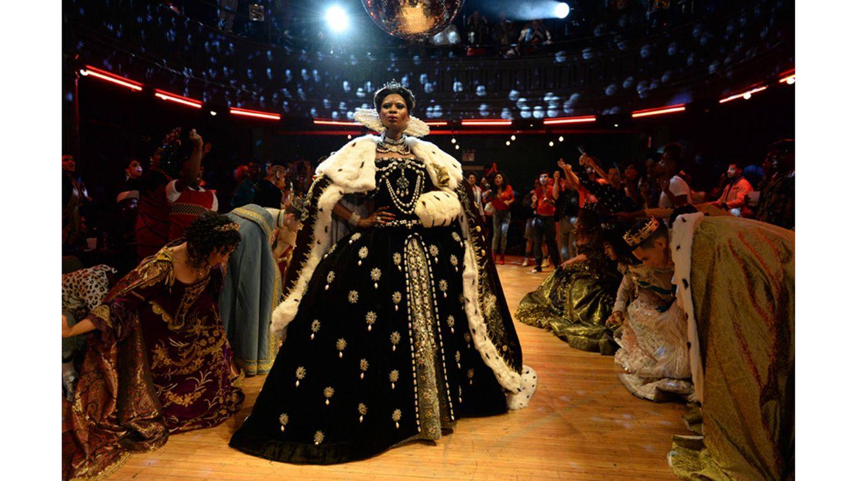 Foto: Dominique Jackson como Electra, en una escena de 'Pose' (JoJo Whilden/Fox)