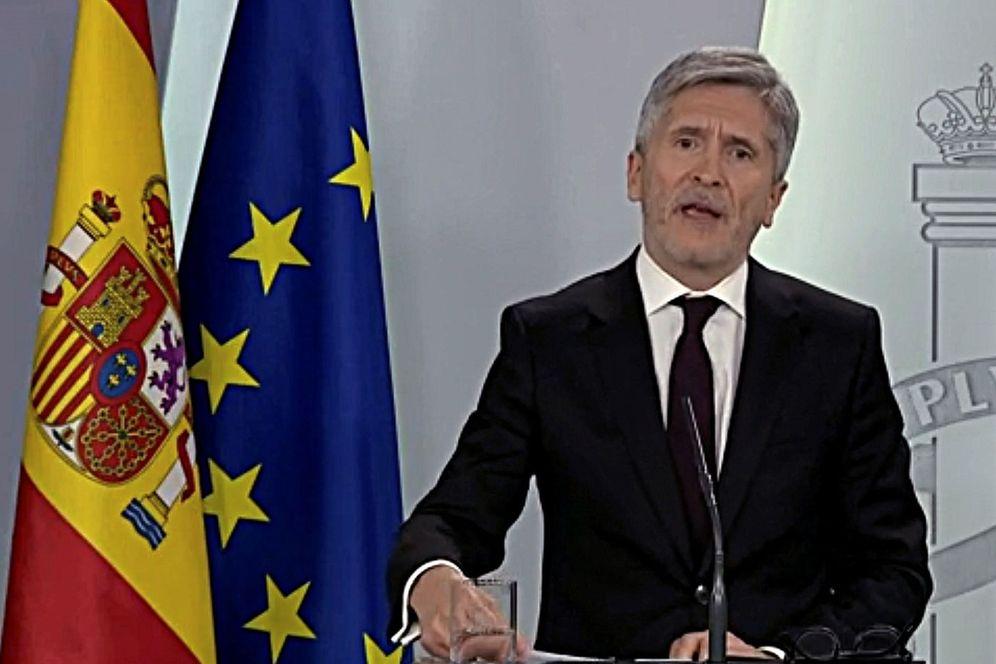 Foto: El ministro Fernando Grande-Marlaska. (EFE)