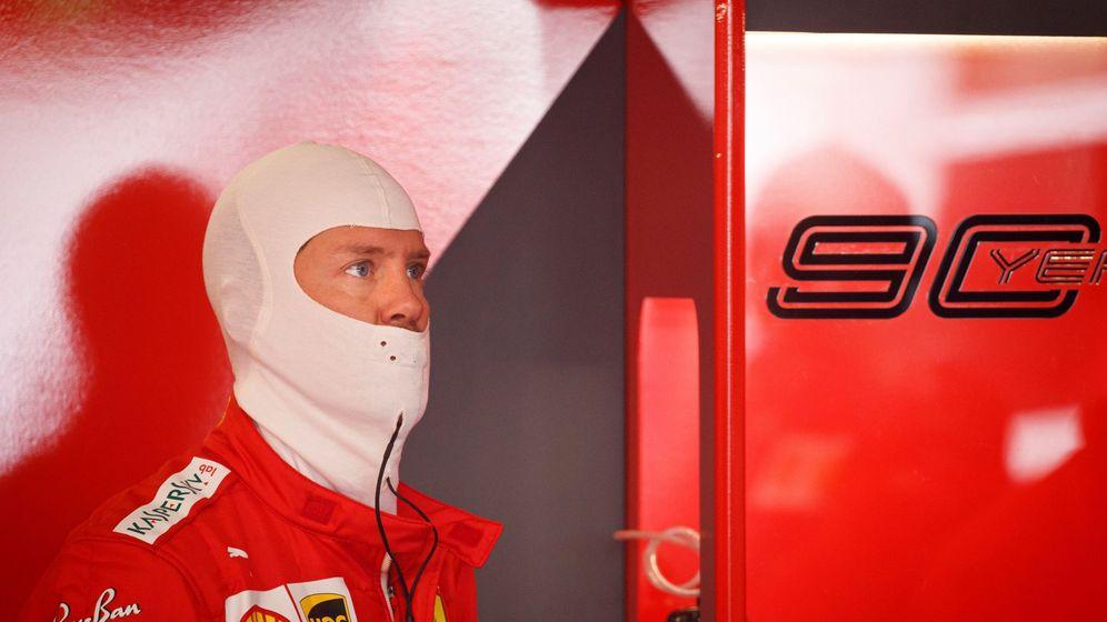 Foto: Ferrari y Vettel tampoco tuvieron un gran fin de semana en el Gran Premio de Francia