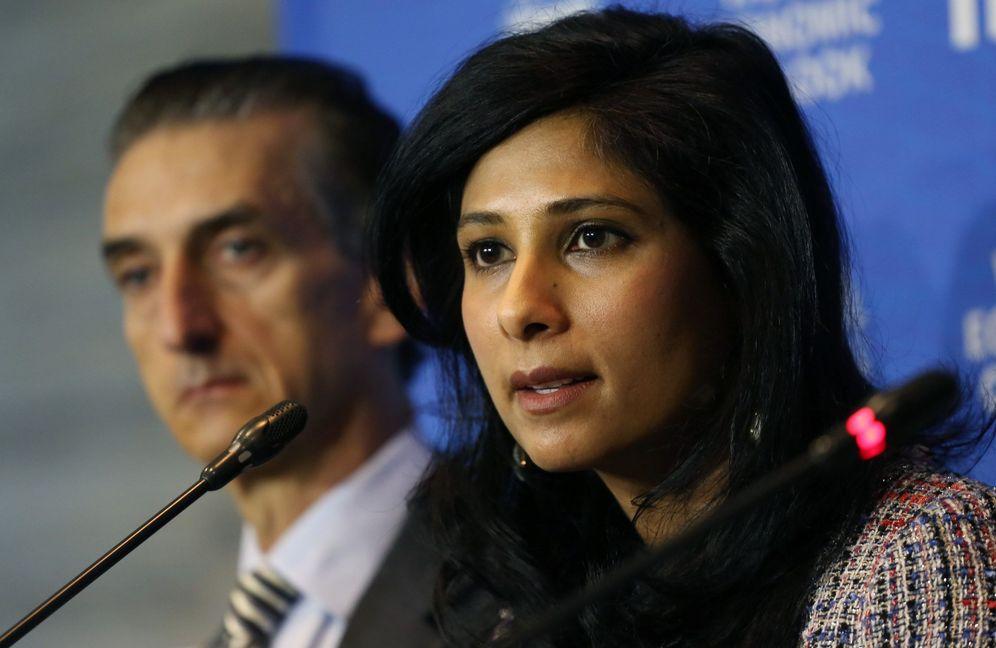Foto: La economista jefa del Fondo Monetario Internacional (FMI), Gita Gopinath. (EFE)