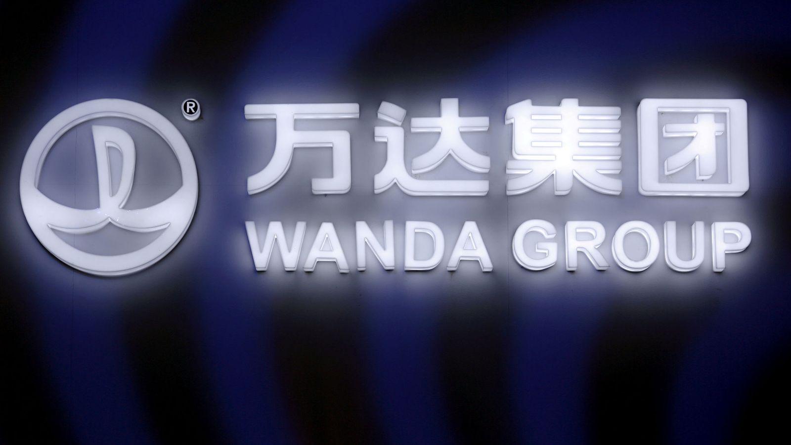 Foto: Imagen del logo del Grupo Wanda. (Reuters)