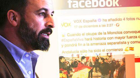 Del millón de Podemos a los 700€ de Vox: el precio de la carrera a la Moncloa en Facebook