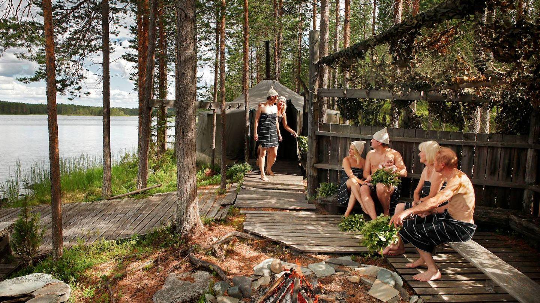 En Finlandia existen tantos tipos de sauna como de nieve.