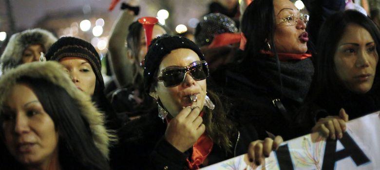 Foto: Protestas en Francia por la legislación sobre prostitución. (Efe)