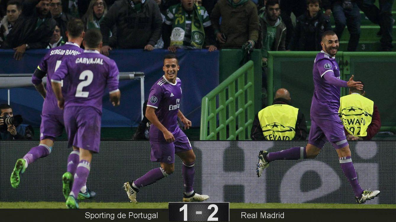 Foto: Benzema entró y solucionó el partido. (Reuters)