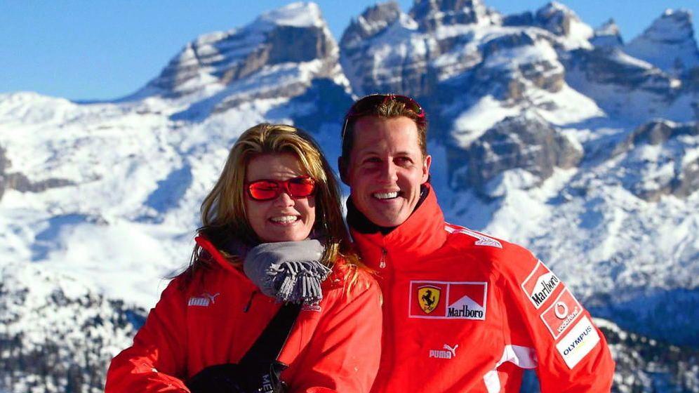 Foto: Michael Schumacher y su mujer, Corinna (Gtres)