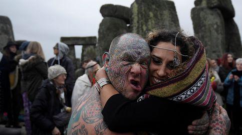 Así se ha vivido la noche más larga del año en Stonehenge (Inglaterra)