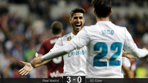 Al Madrid se le olvida jugar bien con la segunda línea, pero le vale para ganar