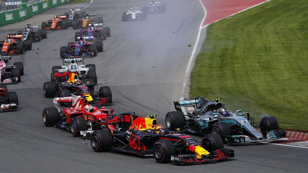 El 'pisotón' de Verstappen a Vettel y lo que nos estamos perdiendo en la Fórmula 1