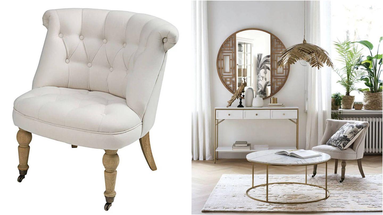 Sillones originales y diferentes de Maisons du Monde. (Cortesía)