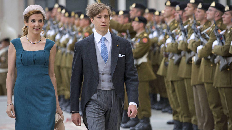 Foto: Los príncipes Louis y Tessy de Luxemburgo (Gtres)