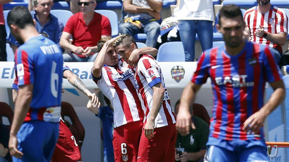 Torres vuelve a salvar al Cholo, al que sólo le sirve cuando el rival está cansado