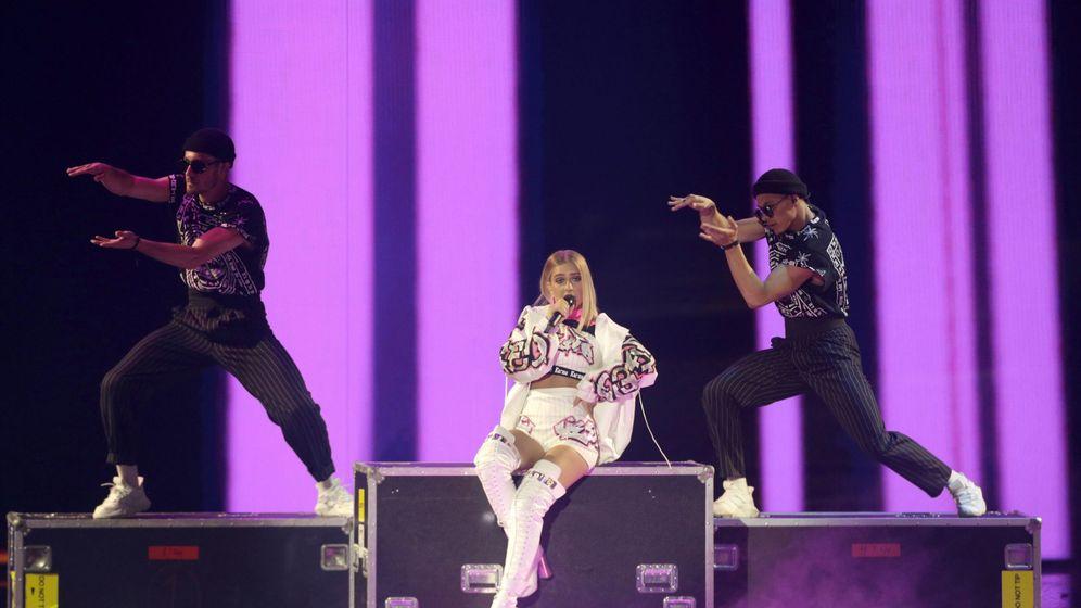 Foto: Actuación de Bielorrusia en Eurovisión 2019. (Efe)