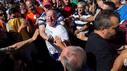Continúa la huelga de taxistas en España