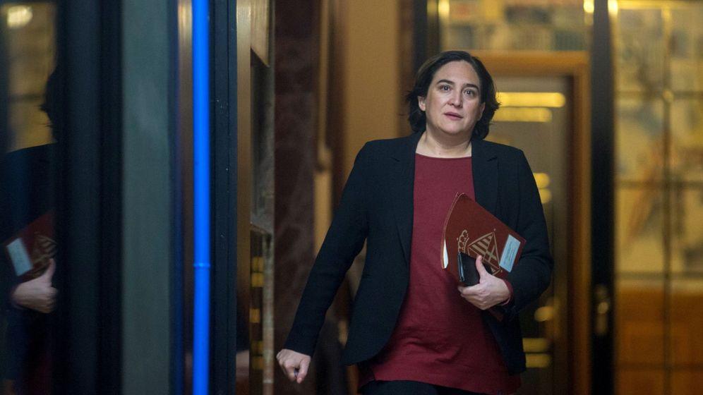Foto: La alcaldesa de Barcelona, Ada Colau.(EFE)