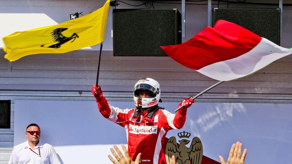 Alonso fue quinto en la victoria de Vettel  y Red Bull completó el podio