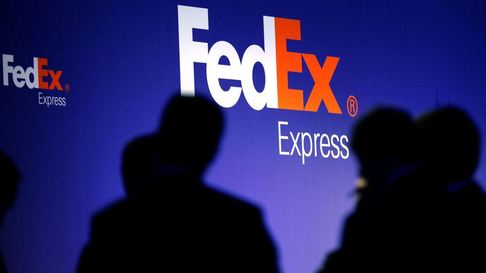 Foto: El logo de FedEx. (Reuters)