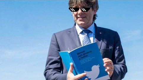 La 'cámara de eco' del tuitero Puigdemont: ¿a qué medios ama y odia?