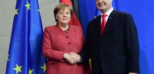 Post de Los candidatos ucranianos buscan apoyos en Merkel y Macron antes de las elecciones