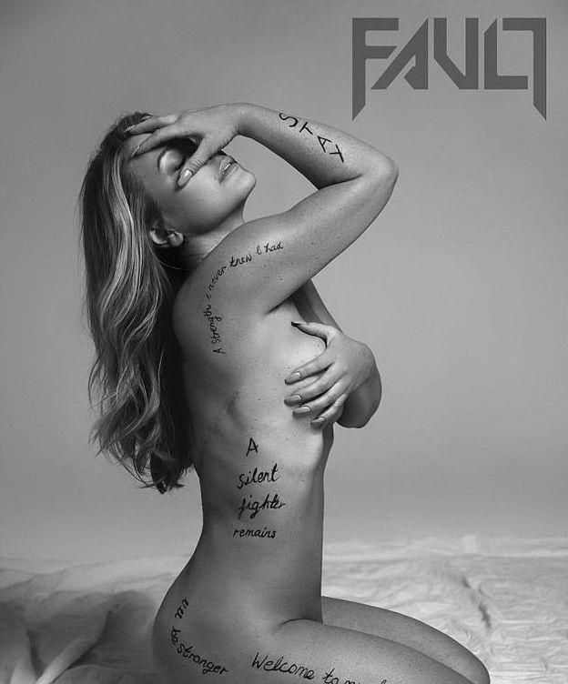 Foto: La cantante Anastacia posa desnuda para la revista 'Fault Magazine' (Foto: Andrés de Lara)