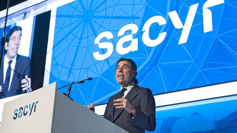Sacyr inicia su salida de Repsol y bajará del 8% al 3% este mismo año