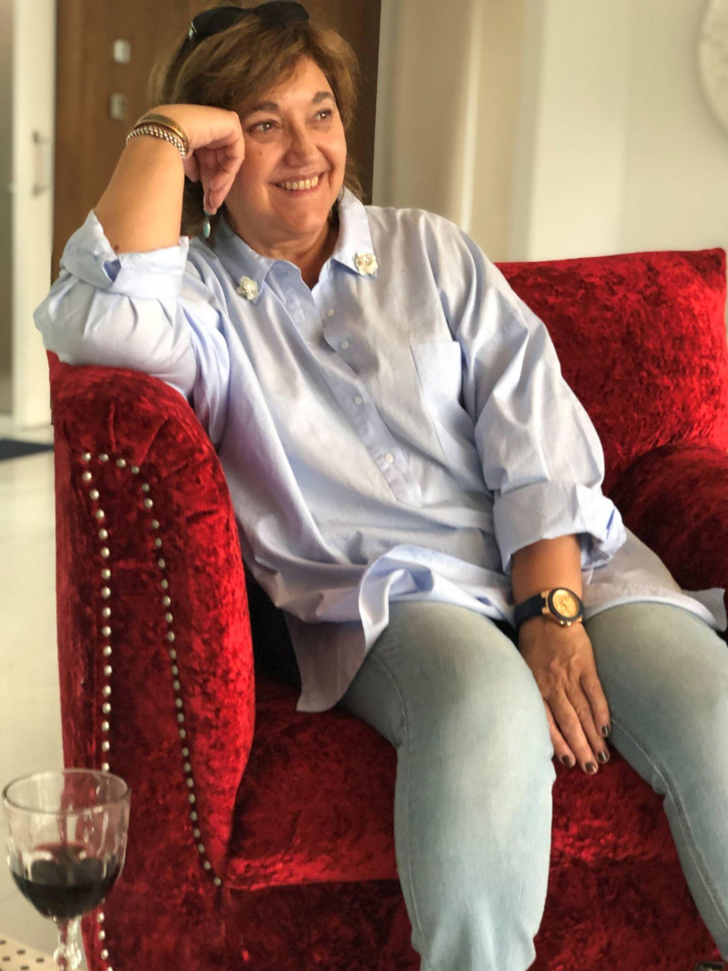La escritora Carmen Gallardo. (Foto cedida)