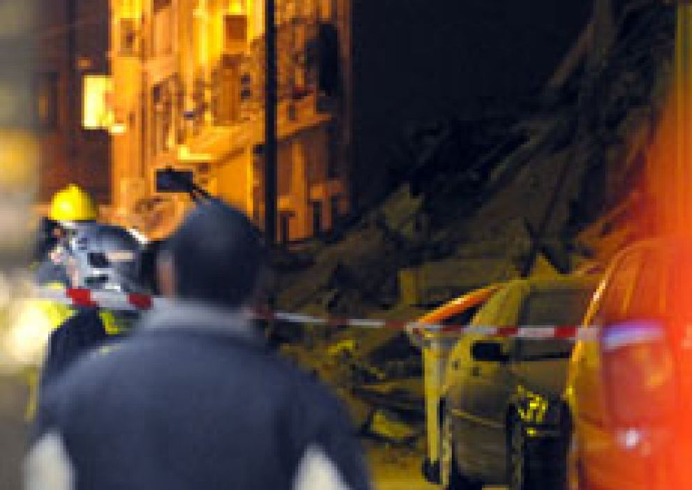 El derrumbe de un edificio en Madrid deja sin vivienda a 28 personas
