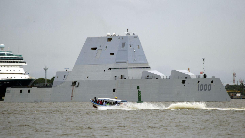 El destructor USS Zumwalt (DDG-1000) de Estados Unidos. (EFE)