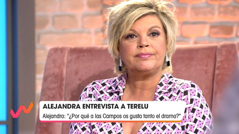 Terelu, en 'Viva la vida'. (Telecinco)