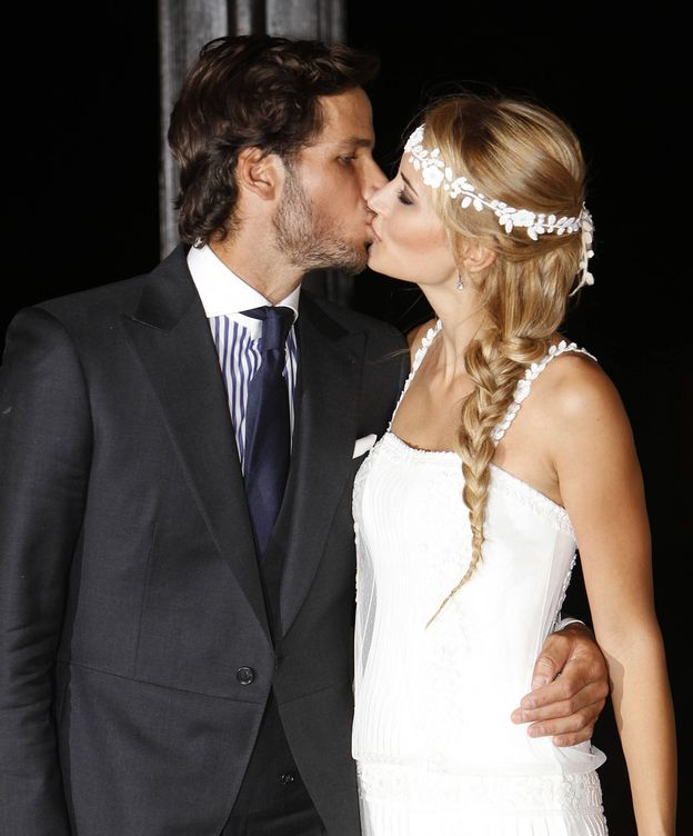 Foto: Feliciano López y Alba Carrillo el día de su boda (Gtres)