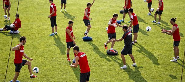 Foto: El Atlético de Madrid deberá entrenar en las instalaciones del Espanyol.