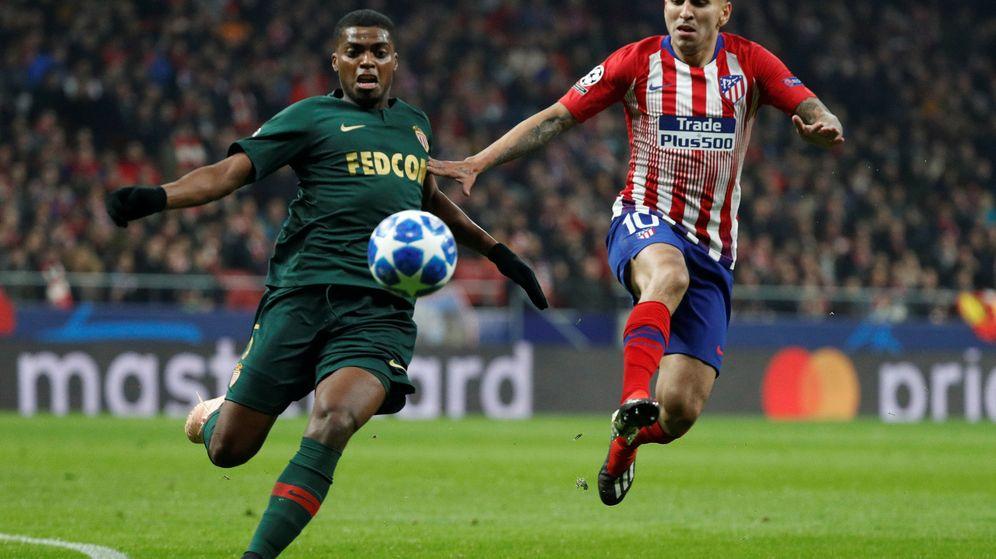 Foto: Ángel Correa en el Atlético de Madrid-Mónaco de Champions. (Reuters)