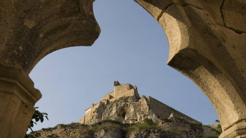 Y allá en lo alto el castillo. (Foto: Turismo de Morella)