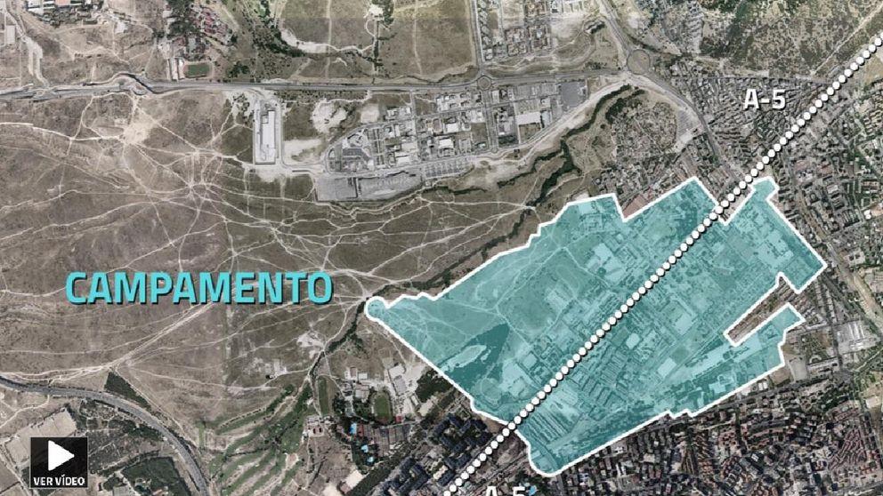 Defensa culpa al Ayuntamiento de tener paralizada la 'Operación Campamento'