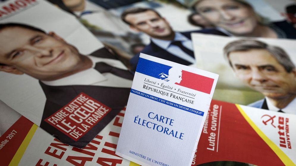 Foto: Elecciones presidenciales en Francia. (EFE)