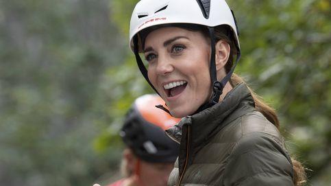 Kate Middleton se atreve con el descenso de barrancos y la bicicleta en su última cita