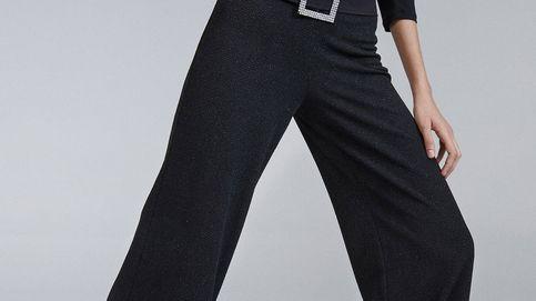 Este pantalón de fiesta de Sfera es ideal para ti si no te gusta mucho el brillo