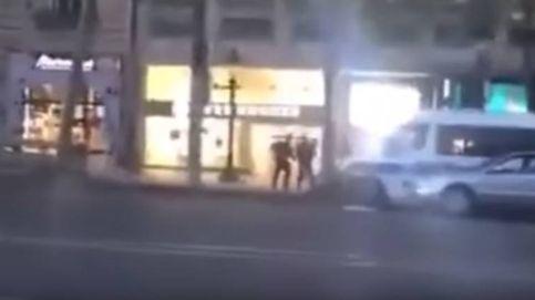 Así abatió la policía al terrorista de París