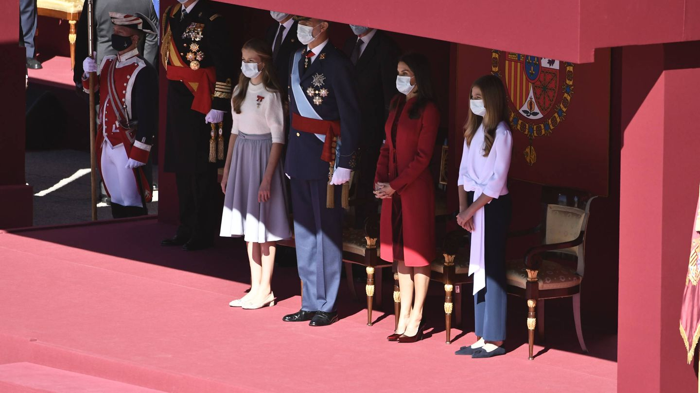 La familia real preside las celebraciones del Día Nacional. (Limited Pictures)