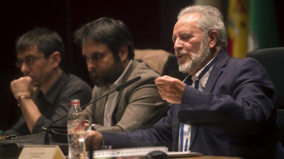 """Anguita pide refundar IU y promover un frente popular """"más allá de lo electoral"""""""