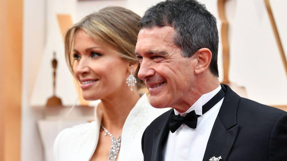 La felicidad de Antonio Banderas tras su reencuentro con su novia, Nicole Kimpel