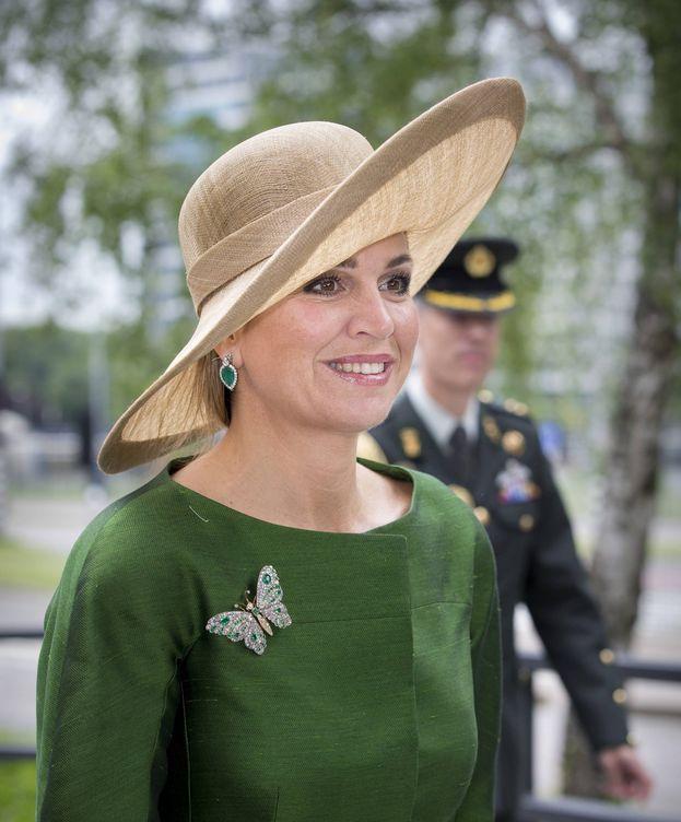 Foto: La reina Máxima durante el congreso sobre transexualidad