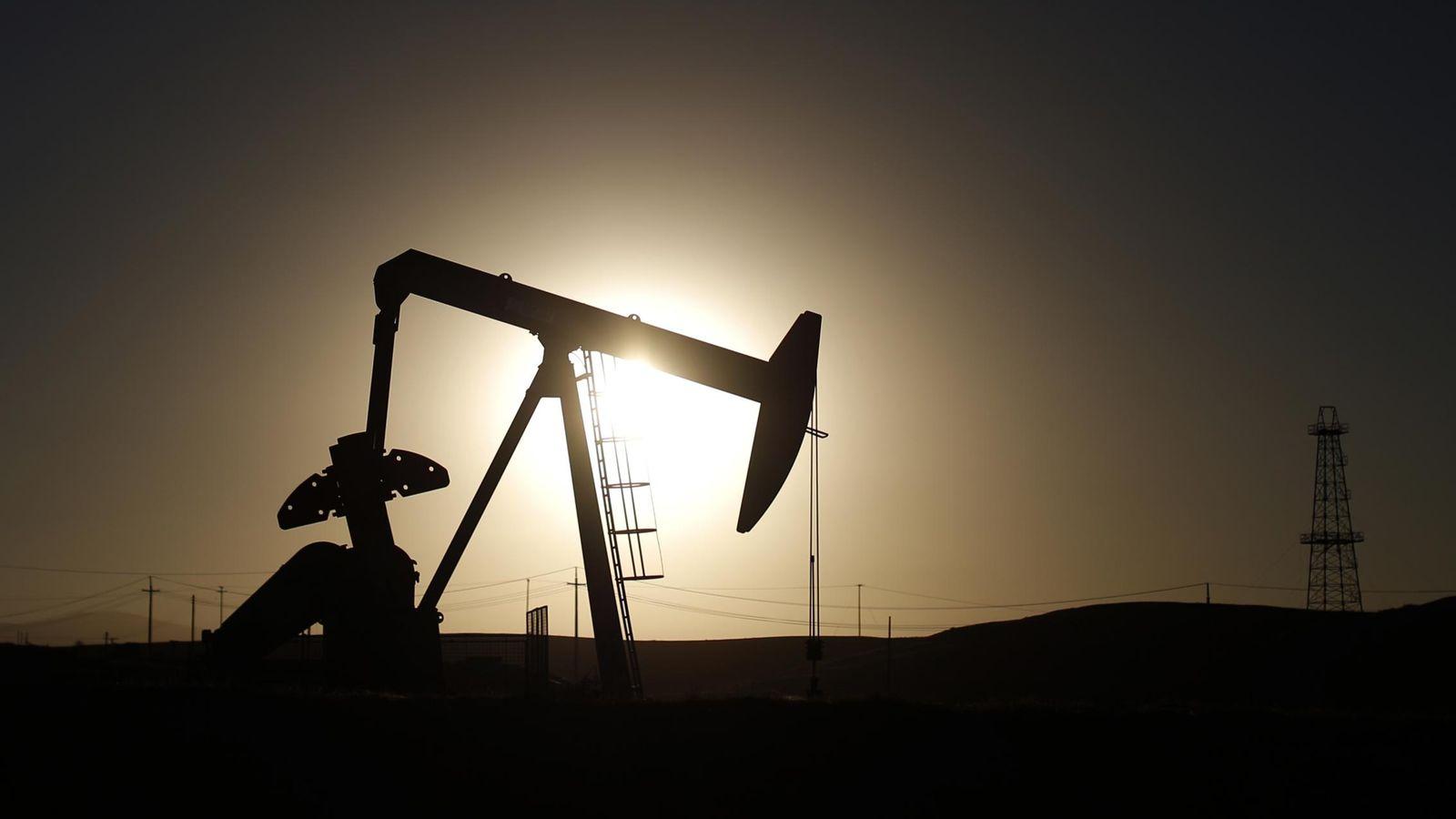 Foto: Imagen de una extractora de petróleo.