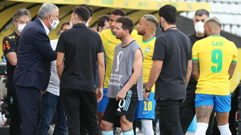 El Brasil-Argentina de las eliminatorias sudamericanas fue un esperpento. (Reuters)