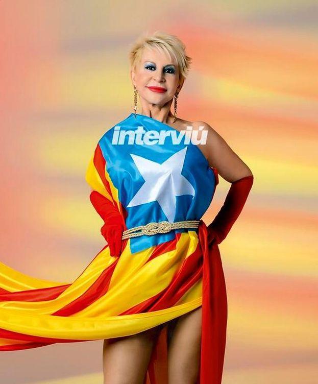 Foto: Imagen de Karmele en Interviú