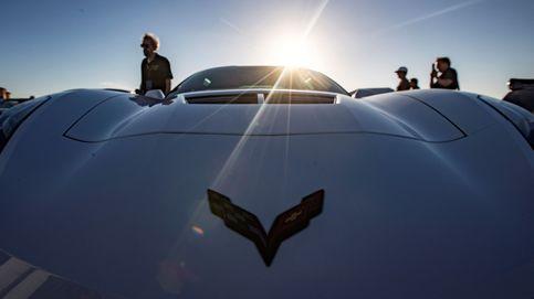 Corvette llega Calfornia para presentar sus nuevos modelos