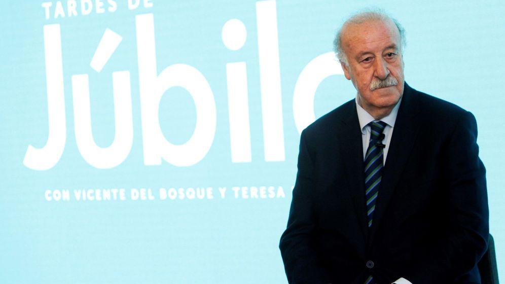 Foto: El ex seleccionador Vicente del Bosque, en un acto. (EFE)